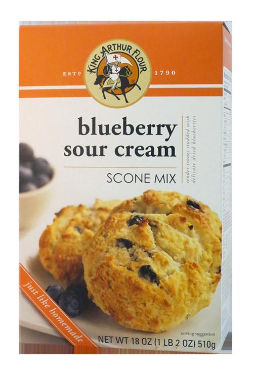 King Arthur Flour Blueberry Sour Cream Scone Mix