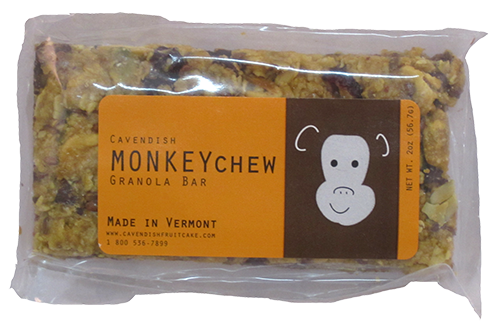 Monkey Chew Original Granola Bar