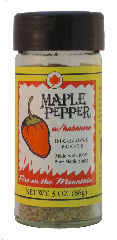 Highland Foods Maple Pepper with Habanero