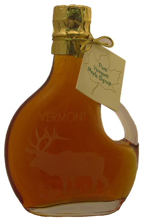 Northeast Maple Etched Elk Bottle w/ Handle