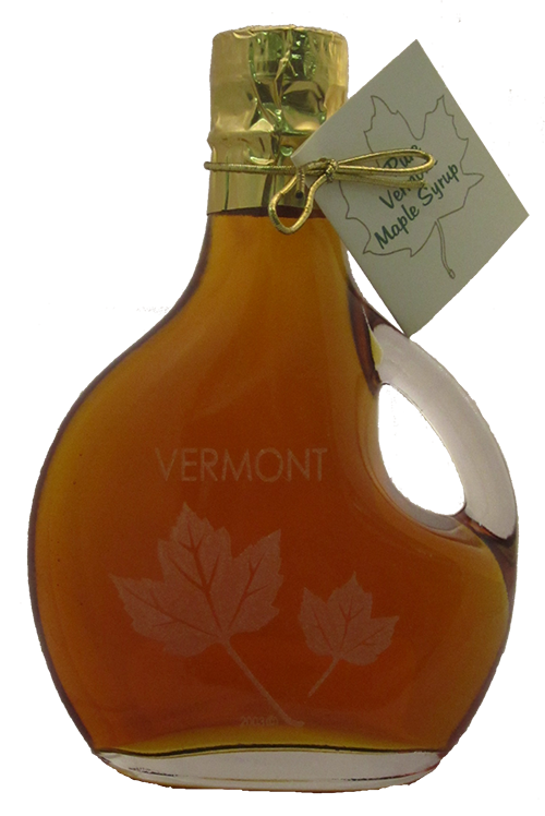 Northeast Maple Etched Leaf Bottle w/ Handle