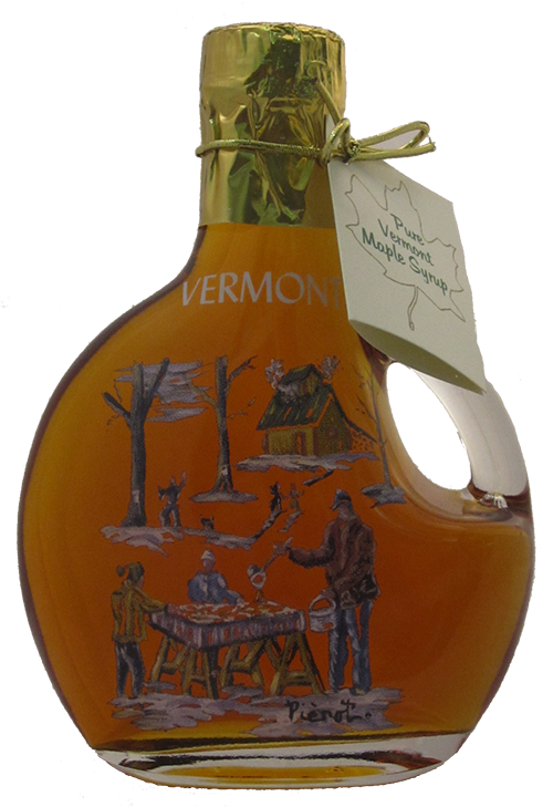 Northeast Maple Sugar on Snow Painted Bottle