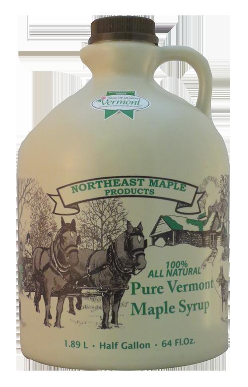 Northeast Maple Half Gallon Dark