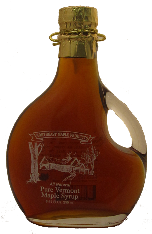Northeast Maple Logo Glass Bottle