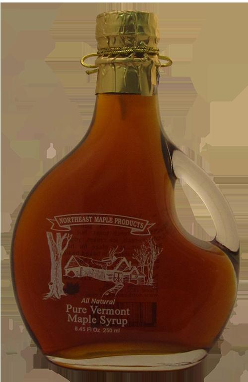 Northeast Maple Logo Glass Bottle