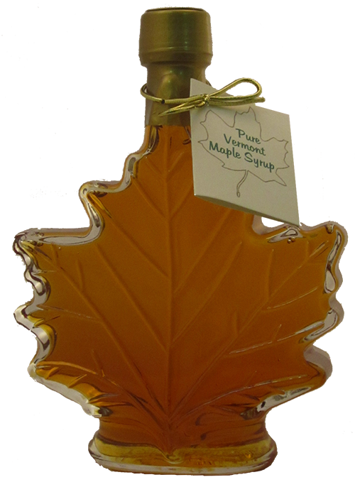 Northeast Maple Medium Leaf Shaped  Bottle