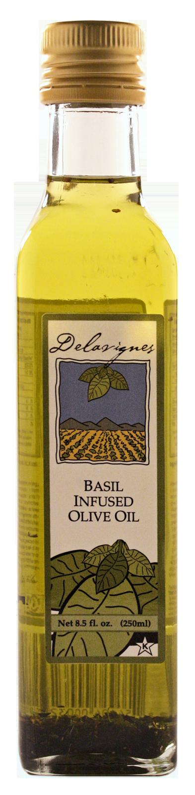 Olive Oil Factory Basil Olive Oil