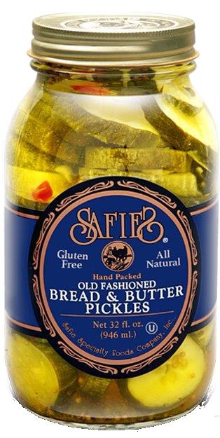 Safie Bread & Butter Pickles