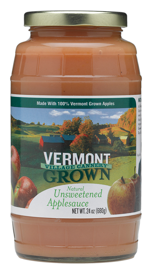 Vermont Village Cannery Unsweetened Applesauce