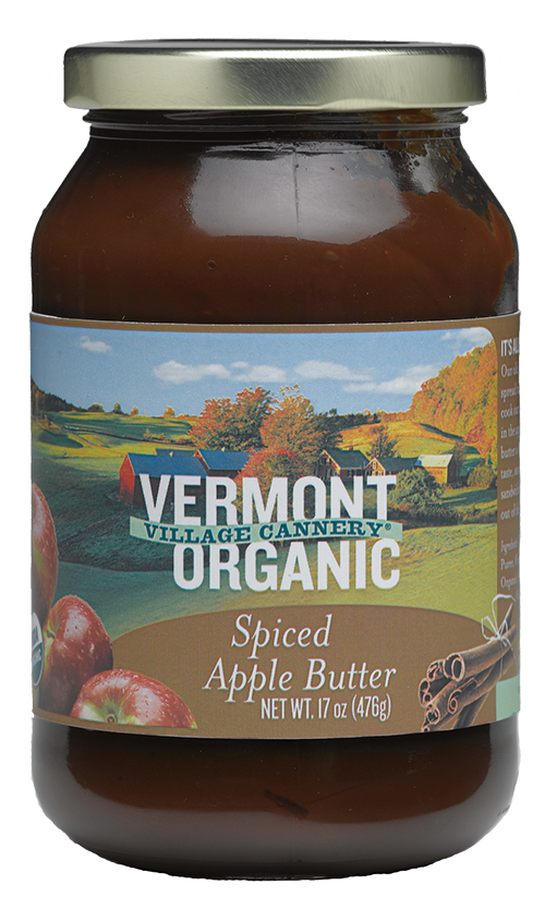 Vermont Village Cannery Organic Spiced Apple Butter