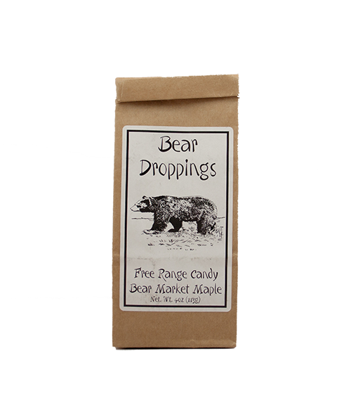 Vermont Farmgirl Bear Droppings Maple Hard Candy