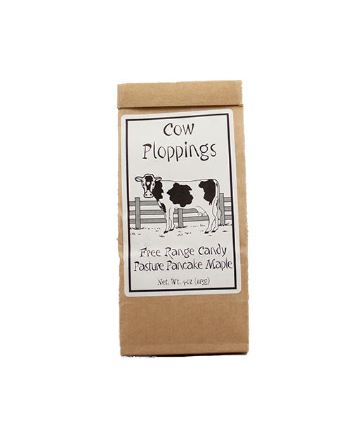 Vermont Farmgirl Cow Plop Maple Hard Candy