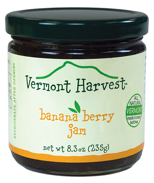 Vermont Harvest Banana Berry Jam
