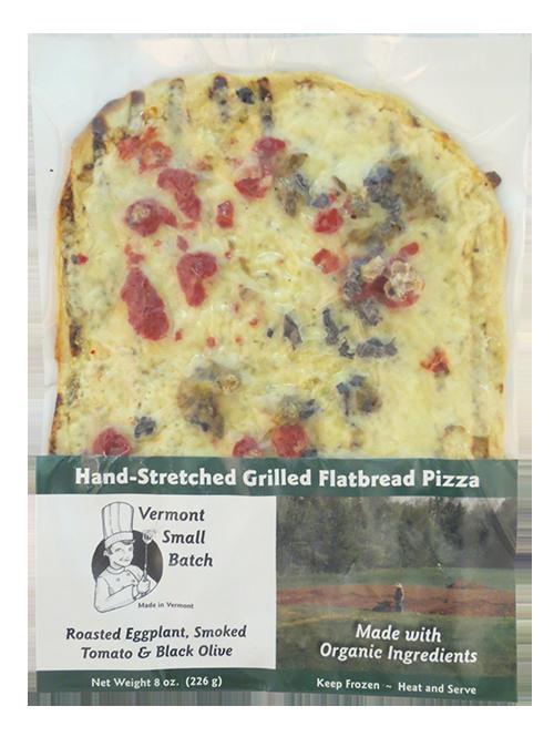 Vermont Small Batch Eggplant & Smoked Tomato Frozen Pizza
