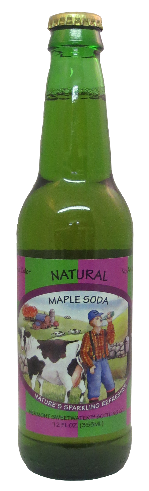 Vermont Sweetwater Maple Soda