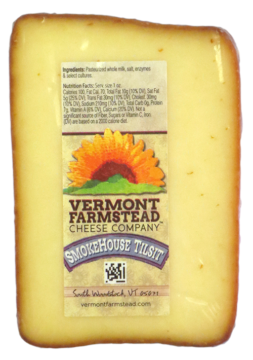 Vermont Farmstead Cheese Smokehouse Tilsit